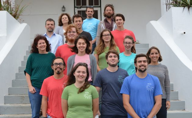 <p> 	2016 REU students after a successful semester of research.</p>
