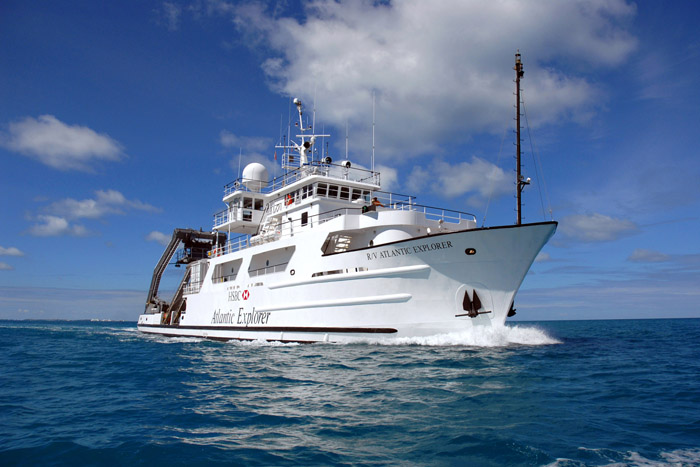 <p> 	<em>R/V Atlantic Explorer.</em></p>
