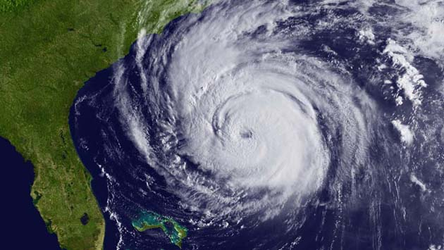 The second most costly hurricane in U.S. History, Sandy.