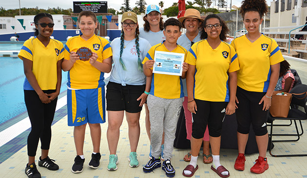 "<p> 	FIRST PLACE TOTAL SCORE RANGER: Clearwater Middle School ""CW ROV Inc.""</p>"