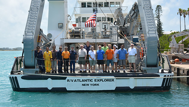 2015 R/V Atlantic Explorer crew