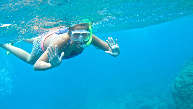 <p> 	Snorkeling with Waterstart.</p>